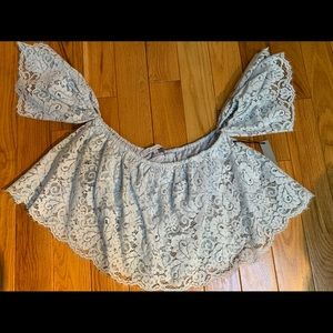 Lovers & Friends Lace Crop Top